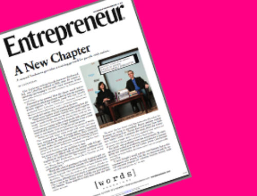 Entrepreneur Article – Now Downloadable