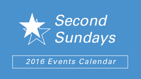Second Sundays 2017 Events Calendar