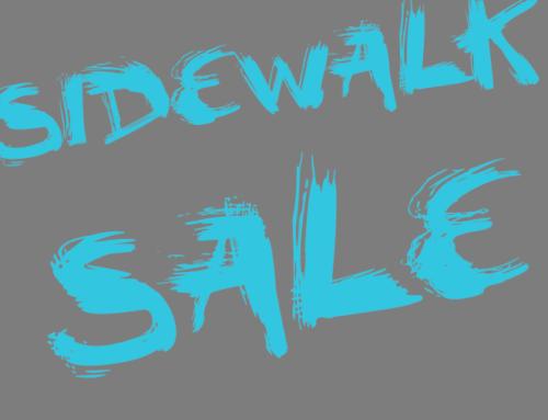 Annual Sidewalk Sale